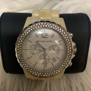 Michael Kors Madison Chronograph Glitz Watch